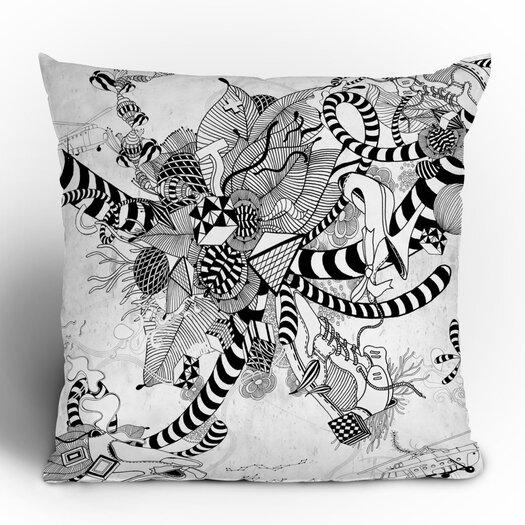 DENY Designs Iveta Abolina Play Woven Polyester Throw Pillow