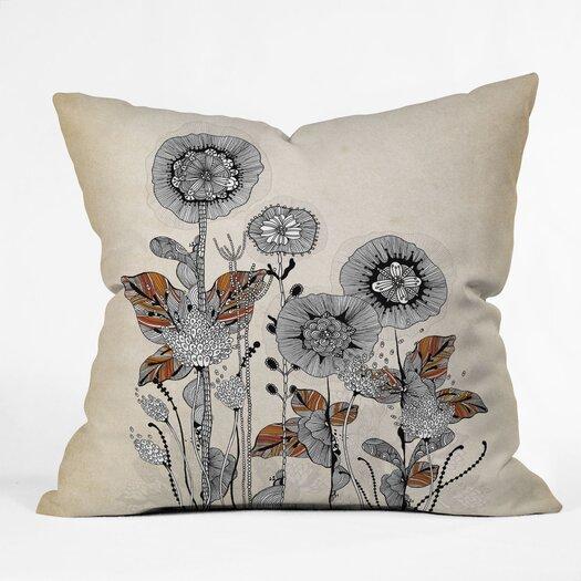 DENY Designs Iveta Abolina Floral 3 Woven Polyester Throw Pillow