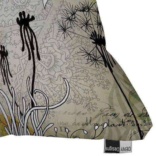DENY Designs Iveta Abolina Little Dandelion Woven Polyester Throw Pillow