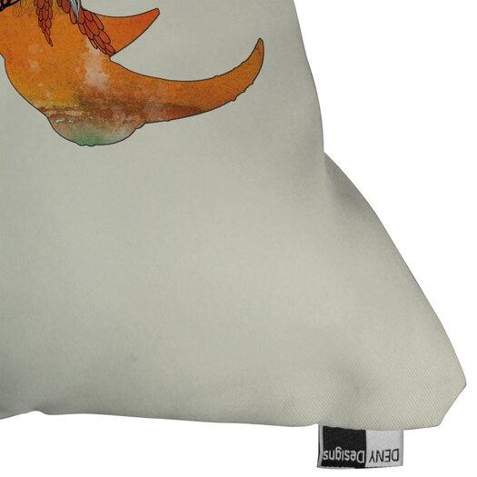 DENY Designs Iveta Abolina Rhino Indoor / Outdoor Polyester Throw Pillow