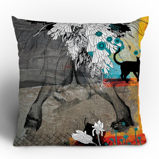 DENY Designs Iveta Abolina Stay Awhile Woven Polyester Throw Pillow