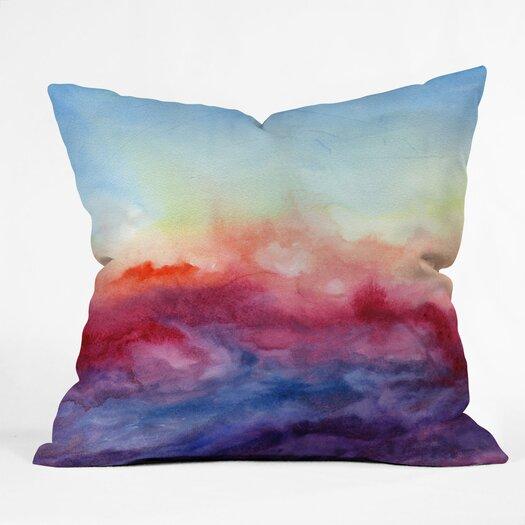 DENY Designs Jacqueline Maldonado Arpeggi Indoor / Outdoor Polyester Throw Pillow