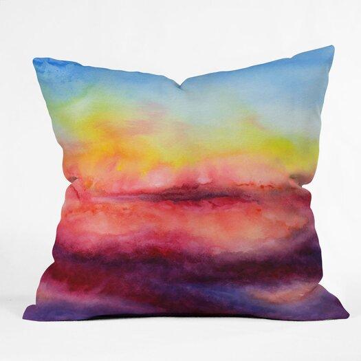 DENY Designs Jacqueline Maldonado Kiss of Life Polyester Throw Pillow