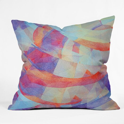 DENY Designs Jacqueline Maldonado New Light Indoor / Outdoor Polyester Throw Pillow