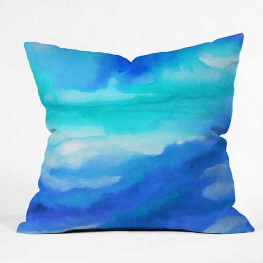 DENY Designs Jacqueline Maldonado Sea Church Polyester Throw Pillow