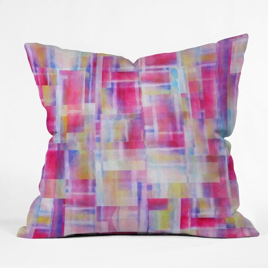 DENY Designs Jacqueline Maldonado Space Between Polyester Throw Pillow