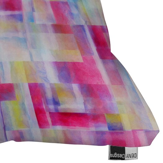 DENY Designs Jacqueline Maldonado Space Between Indoor / Outdoor Polyester Throw Pillow