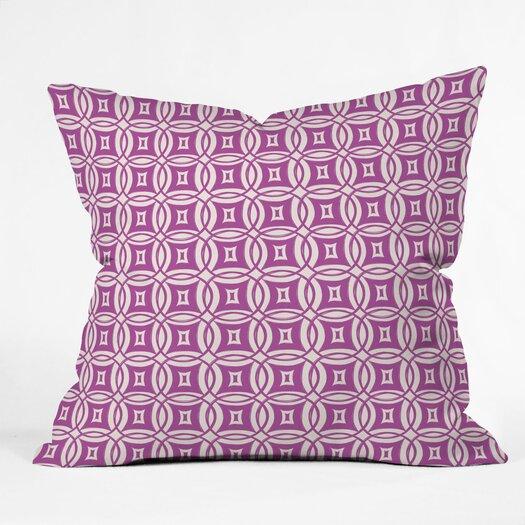 DENY Designs Khristian A Howell Desert Twilight Woven Polyester Throw Pillow