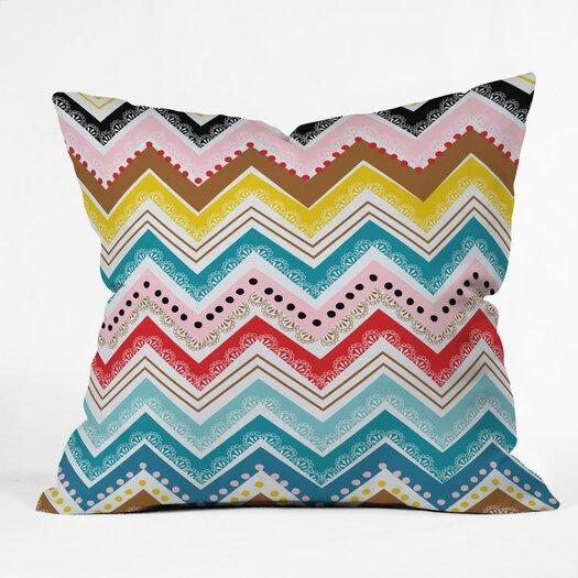 DENY Designs Khristian A Howell Nolita Chevrons Woven Polyester Throw Pillow