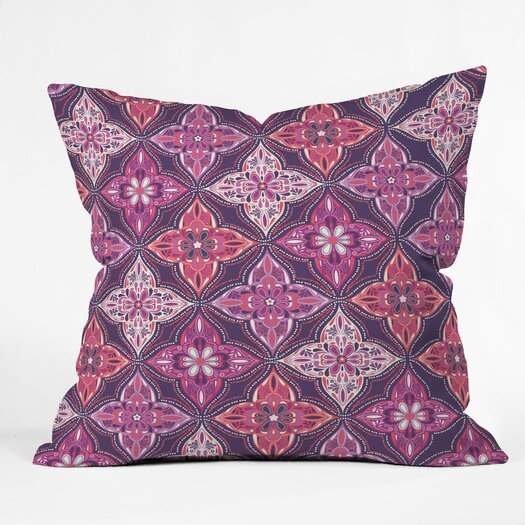 DENY Designs Khristian A Howell Provencal 5 Woven Polyester Throw Pillow