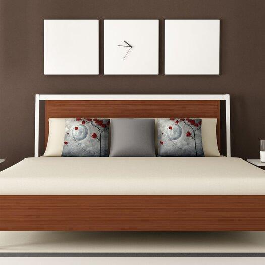 DENY Designs Madart Inc. Far Side Of The Moon Woven Polyester Throw Pillow