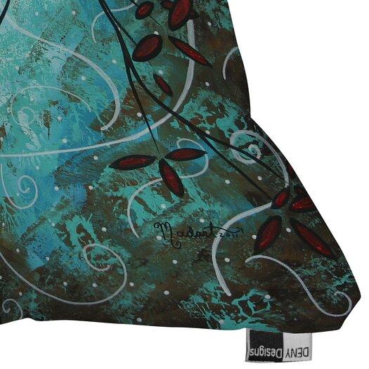 DENY Designs Madart Inc. Romantic Evening Woven Polyester Throw Pillow