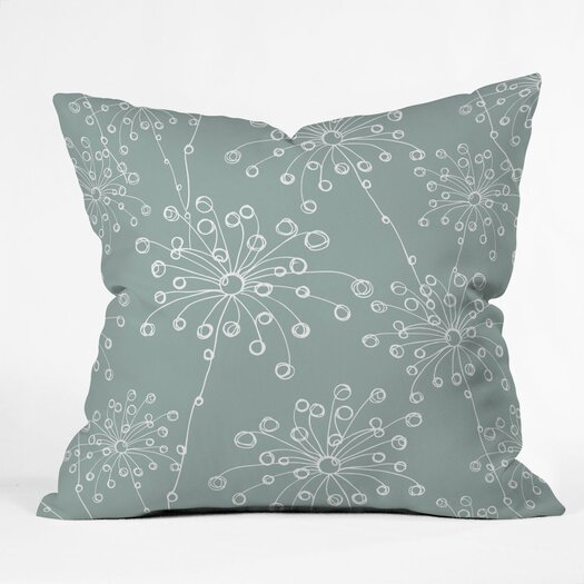 DENY Designs Rachael Taylor Quirky Motifs Indoor/Outdoor Polyester Throw Pillow