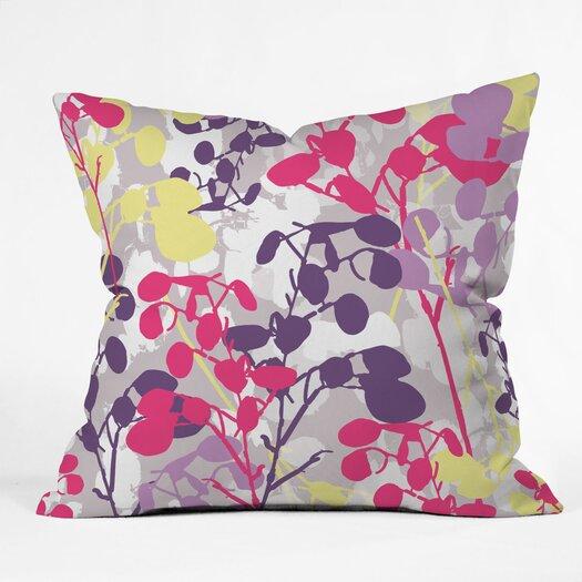 DENY Designs Rachael Taylor Textured Honesty Woven Polyester Throw Pillow