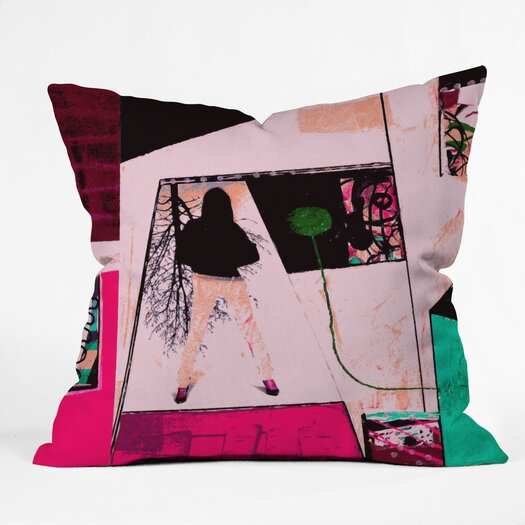 DENY Designs Randi Antonsen City 2 Indoor / Outdoor Polyester Throw Pillow