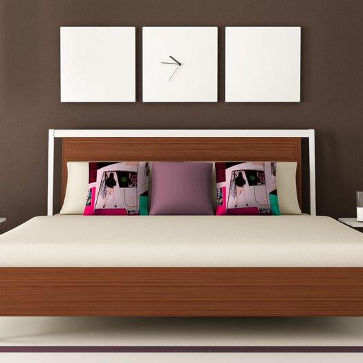 DENY Designs Randi Antonsen City 2 Woven Polyester Throw Pillow