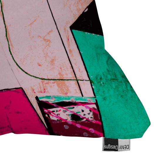 DENY Designs Randi Antonsen City 2 Indoor / Outdoor Polyester Throw Pillow