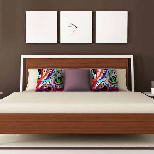 DENY Designs Randi Antonsen Luns Box 7 Woven Polyester Throw Pillow