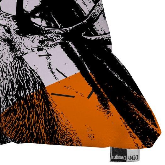 DENY Designs Randi Antonsen Poster Hero 3 Polyester Throw Pillow