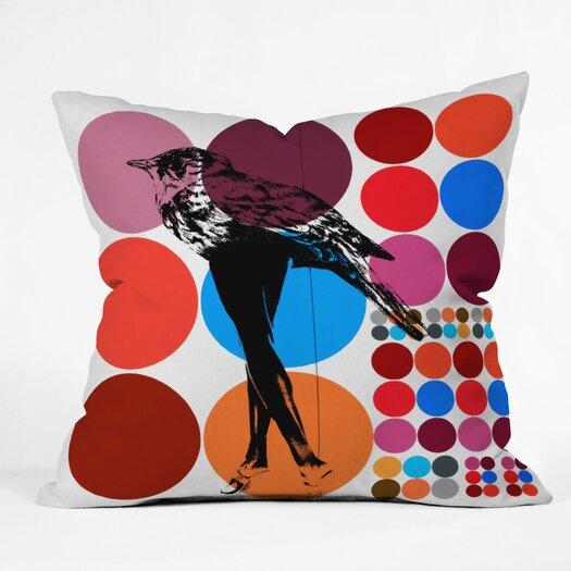 DENY Designs Randi Antonsen Poster Heroins 5 Polyester Throw Pillow