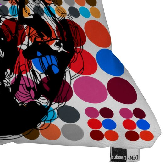 DENY Designs Randi Antonsen Poster Heroins 6 Indoor/Outdoor Polyester Throw Pillow