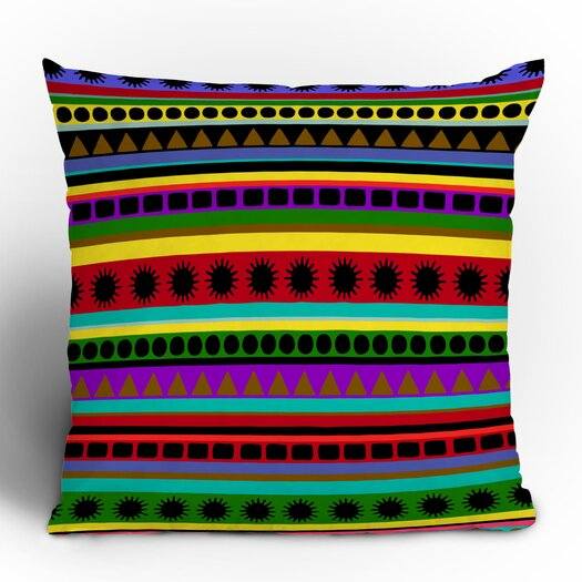 DENY Designs Romi Vega Heavy Pattern Polyester Throw Pillow