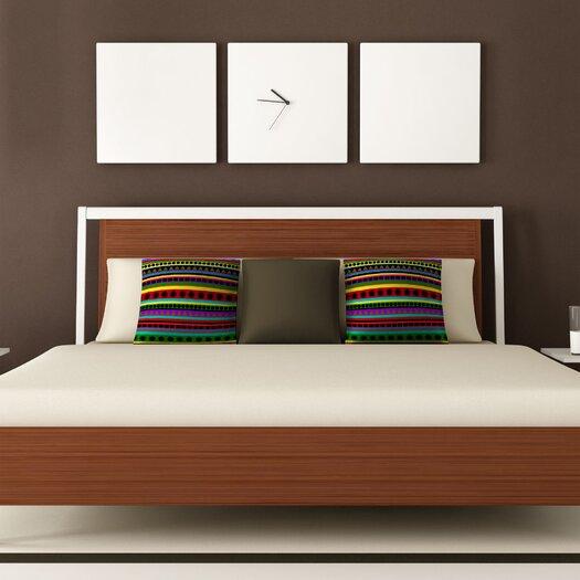 DENY Designs Romi Vega Heavy Pattern Polyester Throw Pillow