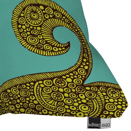 DENY Designs Valentina Ramos Bird in The Flower Indoor/Outdoor Polyester Throw Pillow