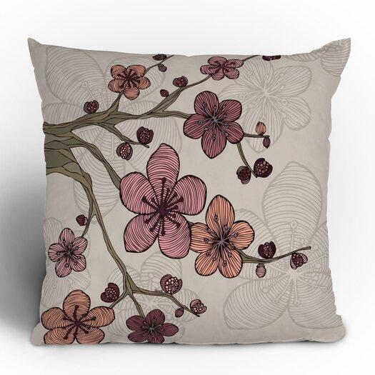 DENY Designs Valentina Ramos Blossom Polyester Throw Pillow