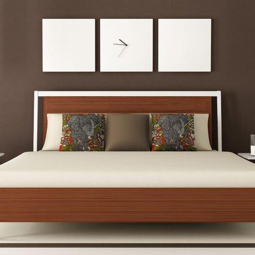 DENY Designs Valentina Ramos Bo The Elephant Throw Pillow