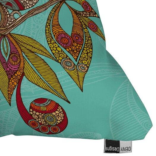 DENY Designs Valentina Ramos Hello Birds Indoor/Outdoor Polyester Throw Pillow