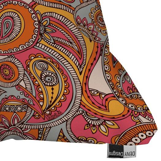 DENY Designs Valentina Ramos Spring Paisley Polyester Throw Pillow