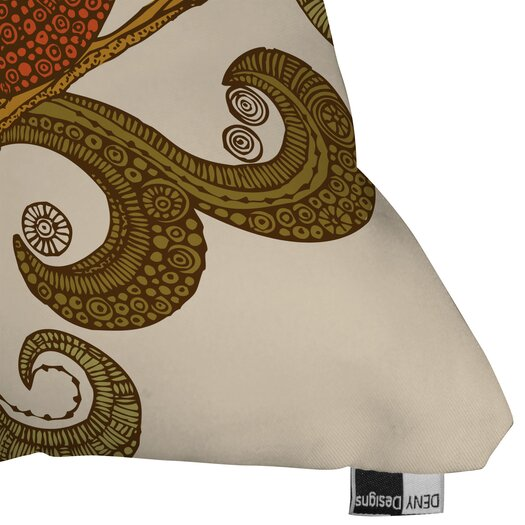 DENY Designs Valentina Ramos The Bird Polyester Throw Pillow