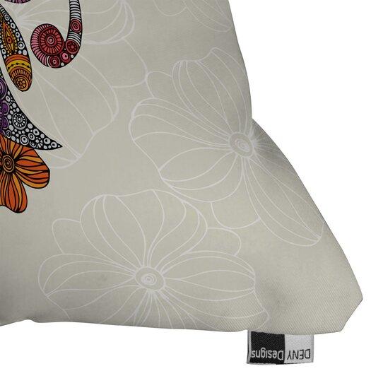 DENY Designs Valentina Ramos Unicornucopia Indoor/Outdoor Polyester Throw Pillow