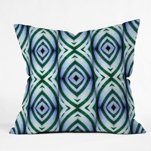 DENY Designs Wagner Campelo Maranta Indoor/Outdoor Polyester Throw Pillow