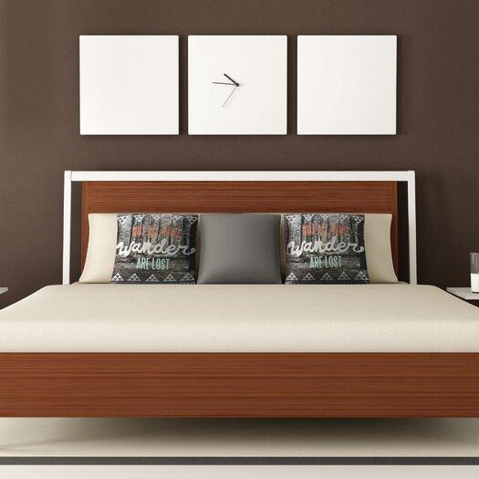 DENY Designs Wesley Bird Wander Polyester Throw Pillow