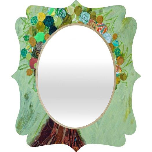 DENY Designs Elizabeth St Hilaire Nelson Spring Tree Quatrefoil Mirror