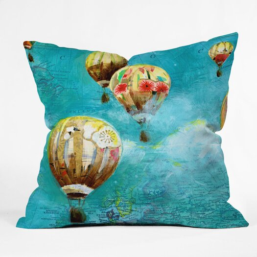 DENY Designs Land Of Lulu Woven Polyester Throw Pillow
