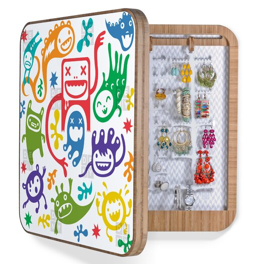 DENY Designs Andi Bird Misfits Jewelry Box