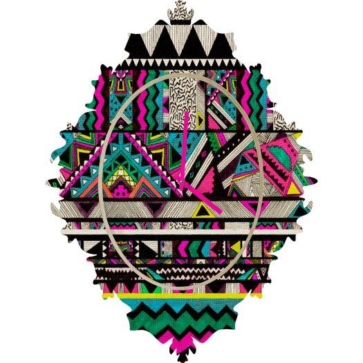 DENY Designs Kris Tate Fiesta Wall Clock