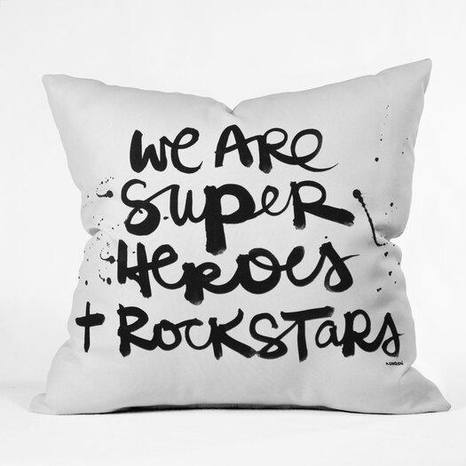 DENY Designs Kal Barteski Woven Polyester Throw Pillow