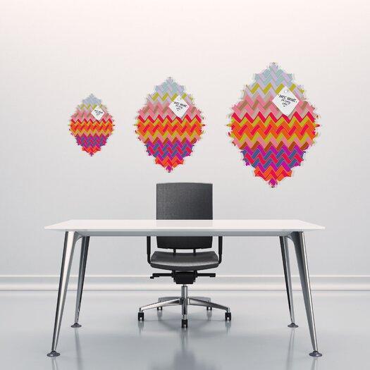 DENY Designs Sharon Turner Geo Chevron Baroque Memo Board
