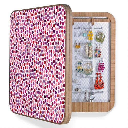 DENY Designs Garima Dhawan Dots Berry Jewelry Box