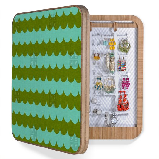 DENY Designs Holli Zollinger Waves of Color Jewelry Box
