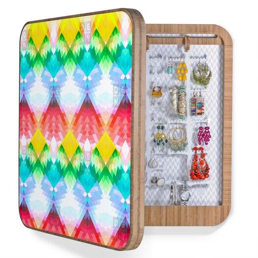 DENY Designs Deniz Ercelebi Crystal Rainbow Jewelry Box