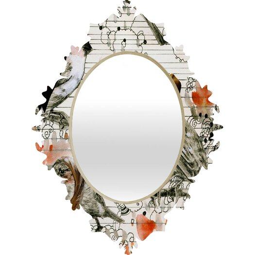 DENY Designs Randi Antonsen Love Birds Wall Mirror