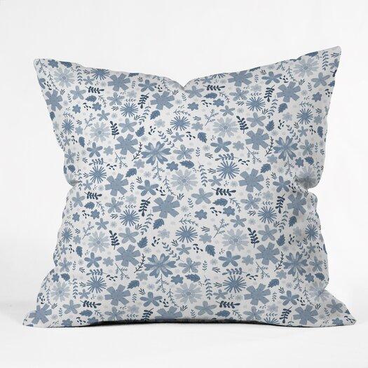 DENY Designs Jennifer Denty Genevieve Big Polyester Throw Pillow