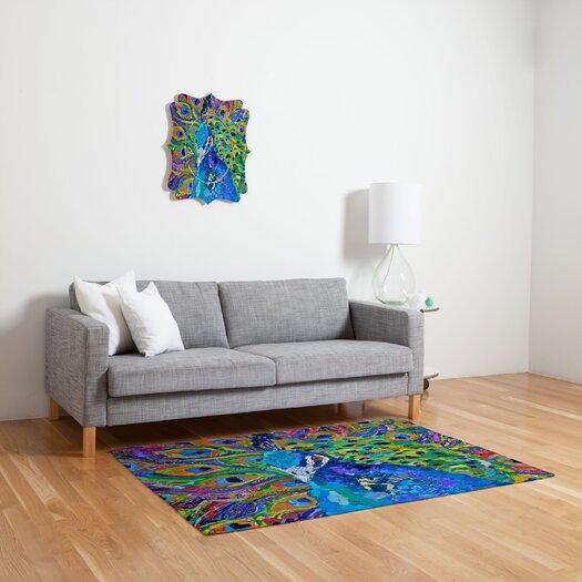 DENY Designs Elizabeth St Hilaire Nelson Cacophony of Color Novelty Rug