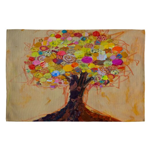 DENY Designs Elizabeth St Hilaire Nelson Summer Tree Novelty Rug