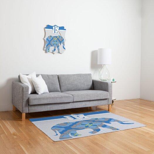 DENY Designs Jennifer Hill Mister Elephant Kids Rug